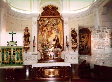 6. Her remains are kept in this vault under the Altar TableCOPY