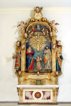 COPY3. The Altar of the Holy Family in Rosarillo Church where she received the inspiration to found a Congregation