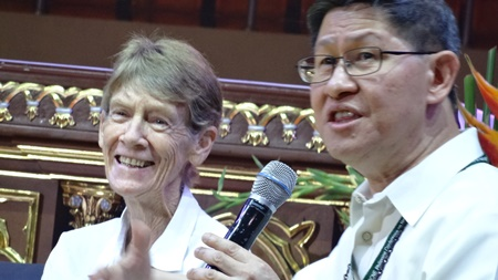COnversation with CHito Cardinal Tagle